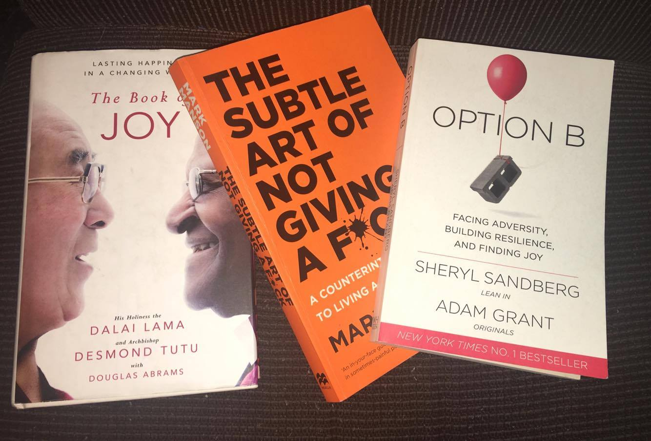 3 book titles about facing adversity